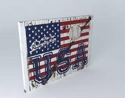 American flag 3d models download 3d american flag files for Maisons du monde usa