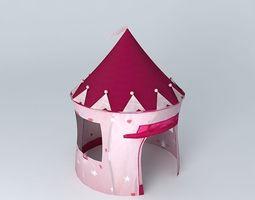 children tent princess castle houses the world 3d