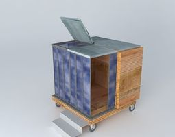 3D Qbe open a cube in your garden