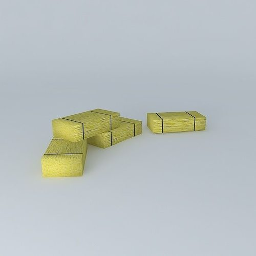 bales of straw 3d model max obj mtl 3ds fbx stl dae 1