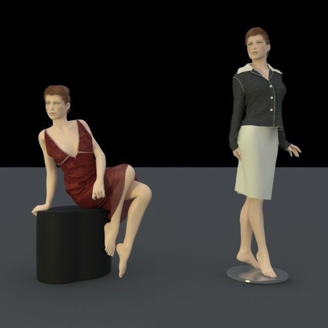 body shape for trade fair