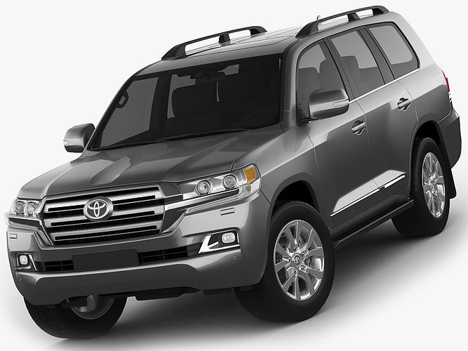 toyota land cruiser 2016 3d cgtrader. Black Bedroom Furniture Sets. Home Design Ideas