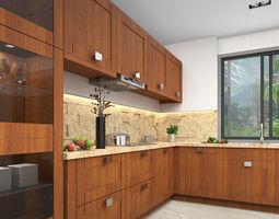 Modern Kitchen 3D 3d