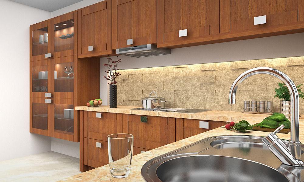 ... Modern Kitchen 3d Model Max 3 ...