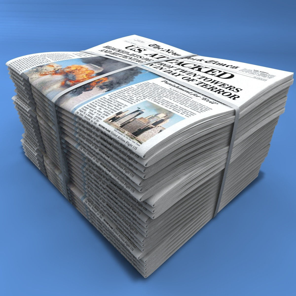 Newspapers | 3D model