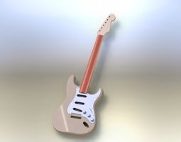 3D 62-strat body and neck asm