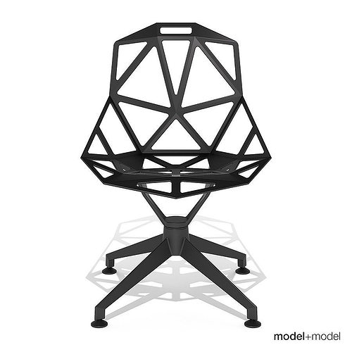 3d model magis chair one 4star cgtrader. Black Bedroom Furniture Sets. Home Design Ideas