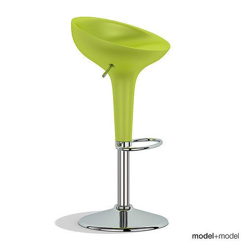 Magis bombo stool 3d model max obj 3ds fbx dxf mat for Magis bombo