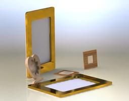frame collection asm 3d model