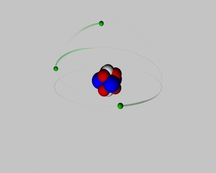 Atom animated