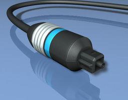 optical connector 3d