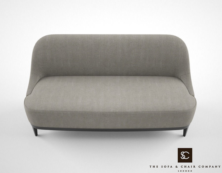Attrayant ... The Sofa And Chair Co Stanley Sofa 3d Model Max Obj Mtl Fbx 3 ...