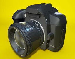 canon eos d60 3d model 3ds c4d