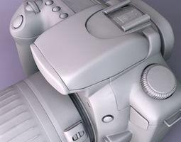 Canon EOS 20D 3D Model