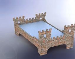 fort bed 3d model