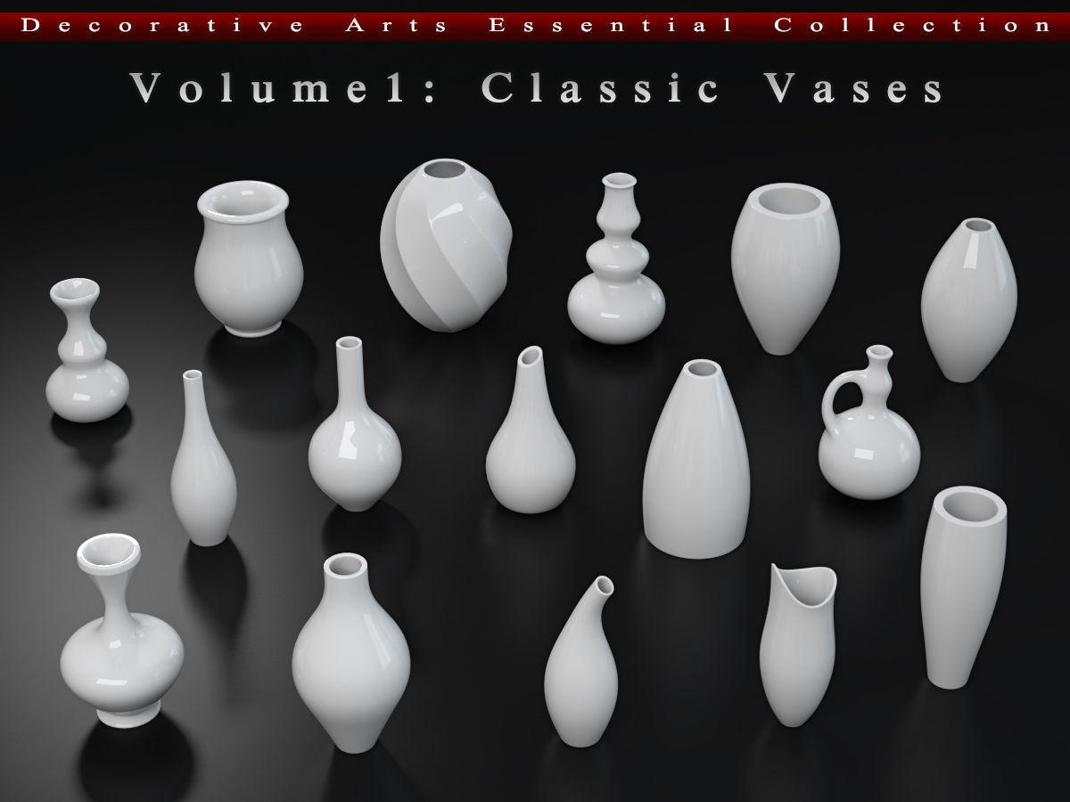 Decorative Arts Essential  Volume1  Classic Vases