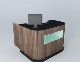 3d model ki505 shopping checkout -restaurantslanchonentes bakeries by: alex marques