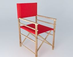 Armchair RED ROBINSON houses the world 3D