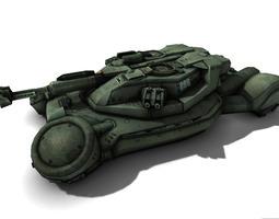 Scifi Tank 3D Model