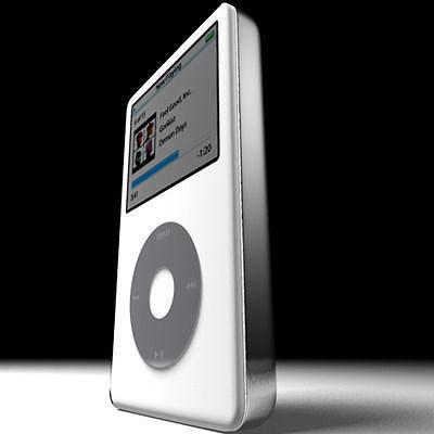 apple ipod 3d model obj mtl 3ds fbx c4d 1