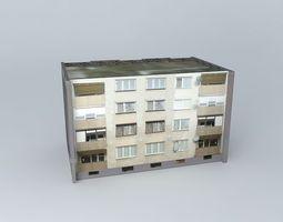 3d model west 69 39s housing condominiums