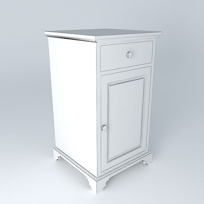 The Cat Bathroom Low Cabinet Houses The World 3d Model Max Obj 3ds Fbx Stl Dae