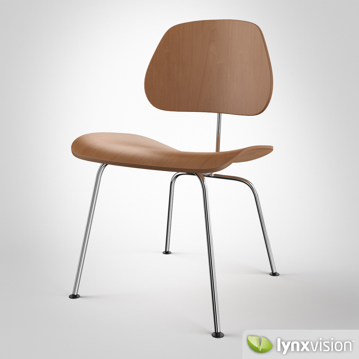 Dcm Chair By Charles Ray Eames 3d Model Cgtrader