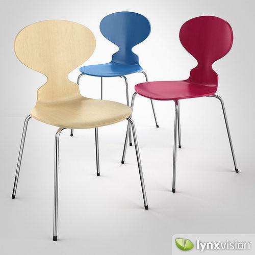 the ant chair 3d model max obj mtl fbx 1