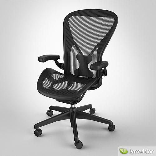 Aeron Chair by Herman Miller 3D model & Aeron Chair by Herman Miller 3D model | CGTrader