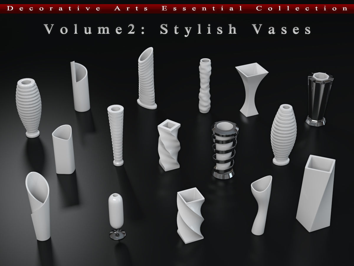Decorative Arts Essential  Volume2  Stylish Vases