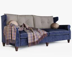 3d model brooklyn extra large sofa