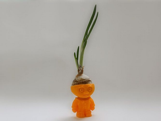 chipollino onion boy 3d model stl 1