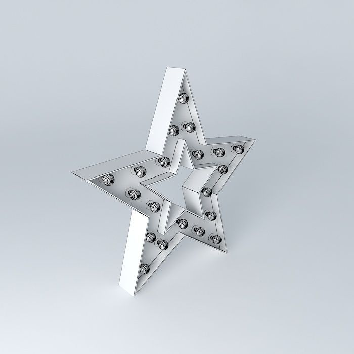 Etoile APPLY ALABAMA houses the world 3D Model MAX OBJ 3DS FBX STL DAE   CGTrader.com