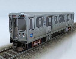 3D model CTA 5000 train