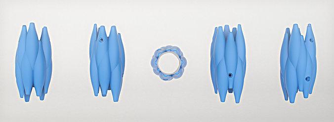 symbioso - 30mm diameter broken wood part fixer 3d model stl 1
