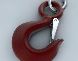pulley hook 3d model