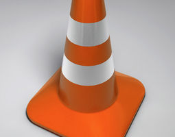 Traffic Cone 3D model security