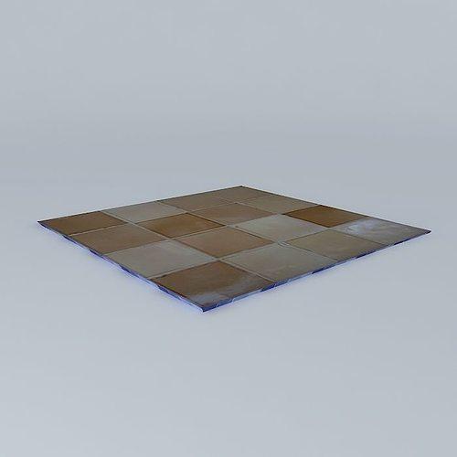 earthenware tiles french handmade tile marsh tiles 3d model max obj mtl 3ds fbx stl dae 1