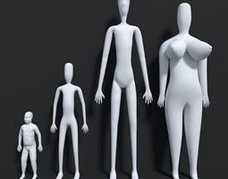 3D model Family Matters