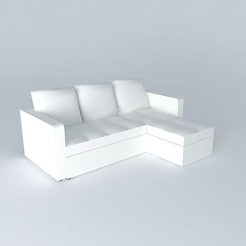 white sofa bed toronto houses the world 3d model max obj mtl 3ds fbx stl dae 1