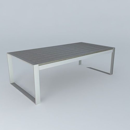 Coffee Table Brisbane Houses The World 3d Model