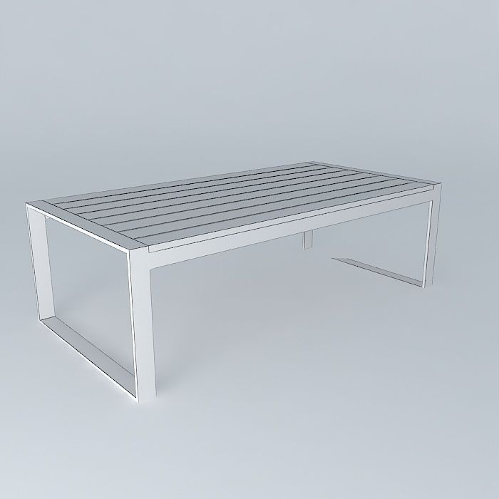 Coffee Table Brisbane Houses The World 3d Model Max Obj 3ds Fbx Stl Dae 5
