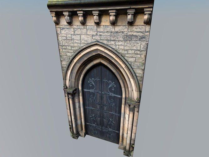 & Medieval door 3D asset | CGTrader
