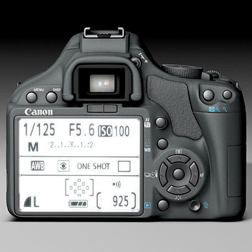 canon 450d 3d model obj 3ds fbx c4d 1