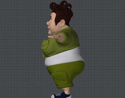 3D model Big Woman