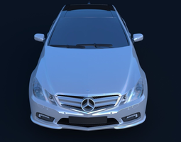 3D model Mercedes-Benz E500 Coupe