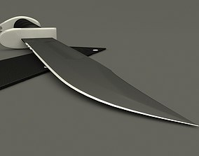 3D model weapon Army knife