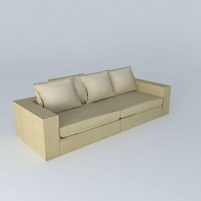 Sofa BARNABE linen houses the world