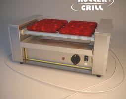 3d model roller grill rg5