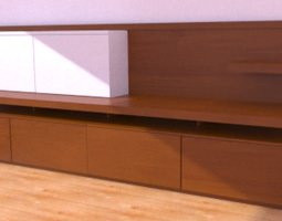 living room module 3d model